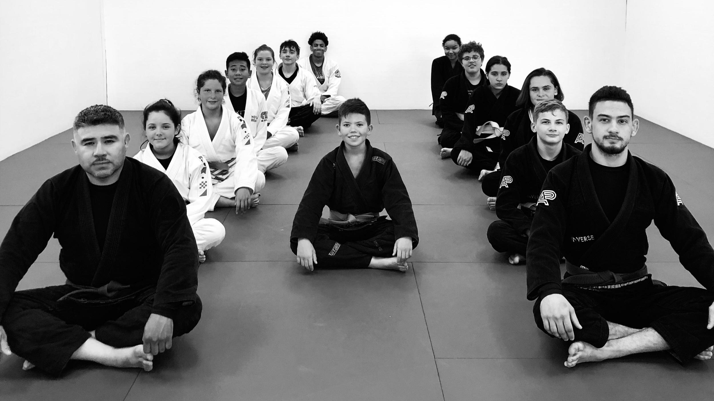 Inverse Jiu Jitsu Tucson Teens Juveniles