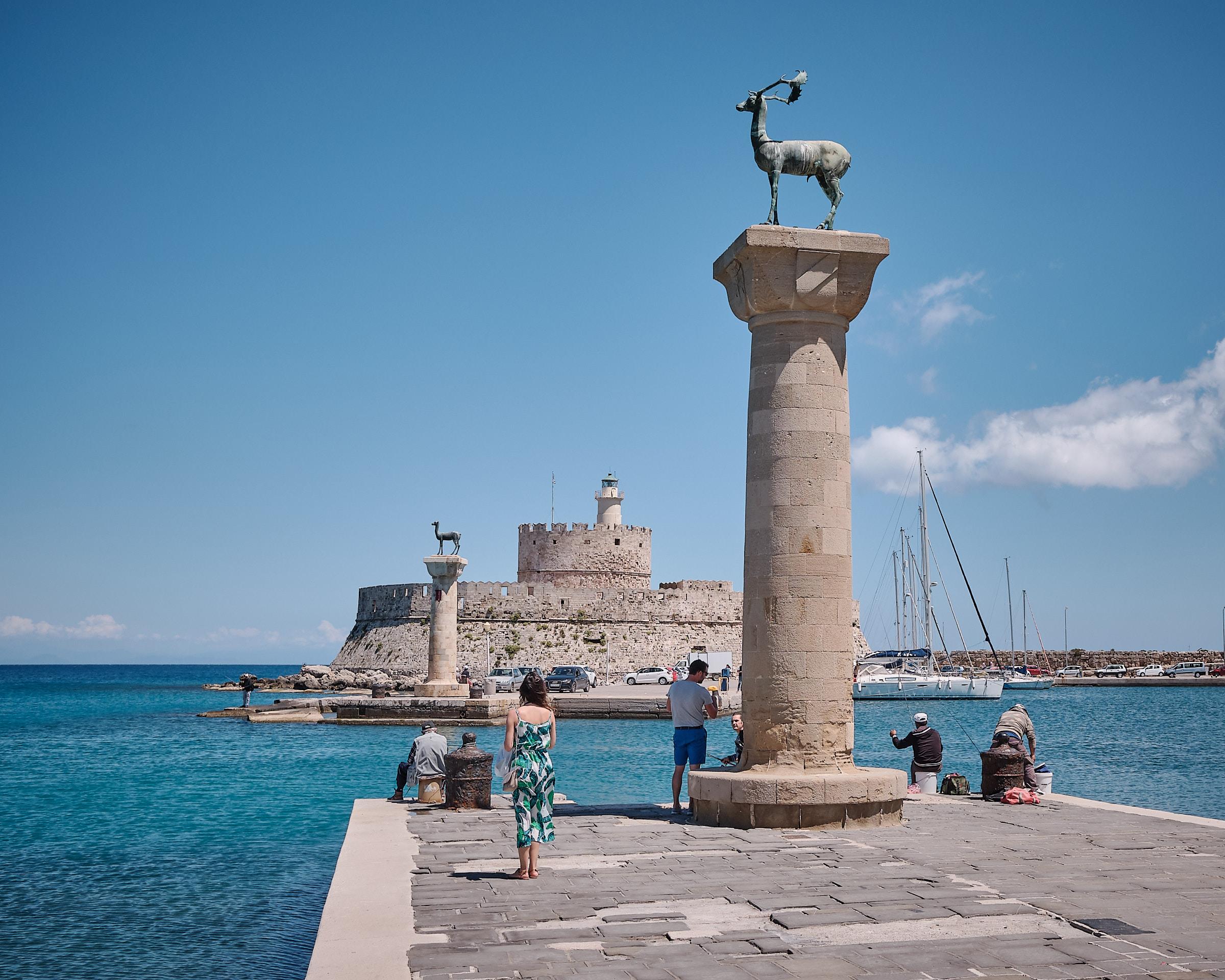 Fort of St. Nicholas Rhodos Grekland
