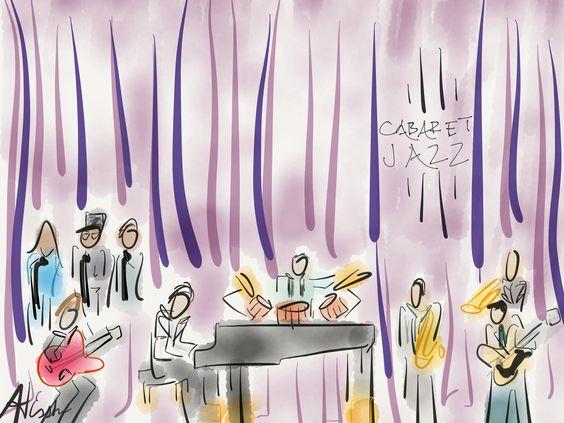 Frankie and Friends in Cab Jazz