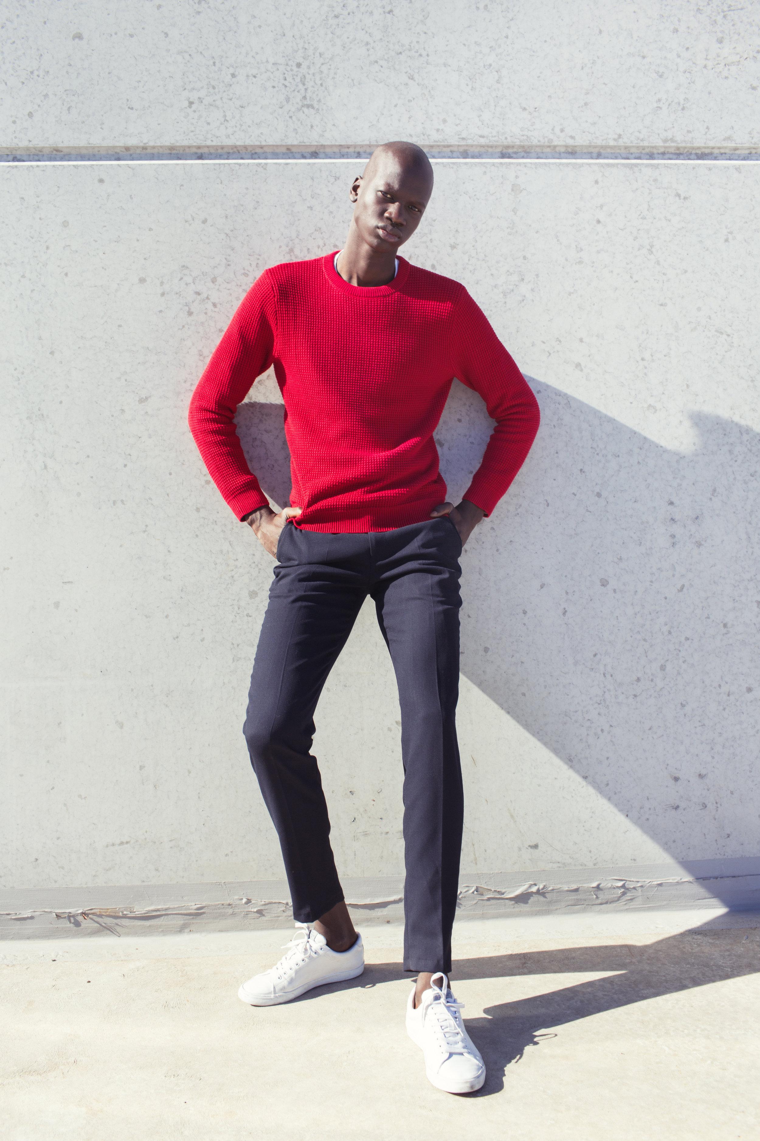 top & shoes   H&M ,  trousers   BELL & BARNETT