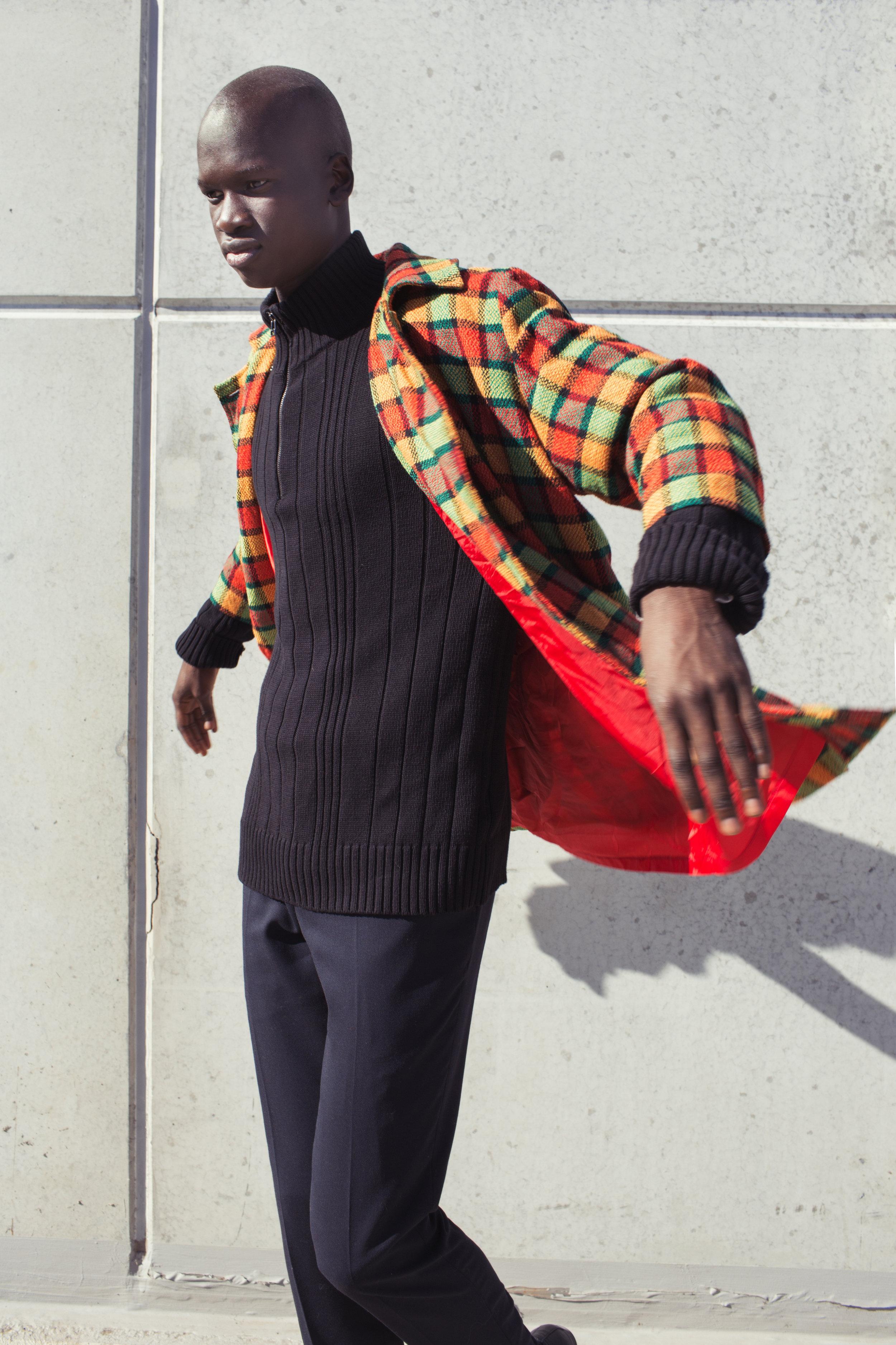 trousers   BELL & BARNETT ,  jacket   ROSALIA VARI