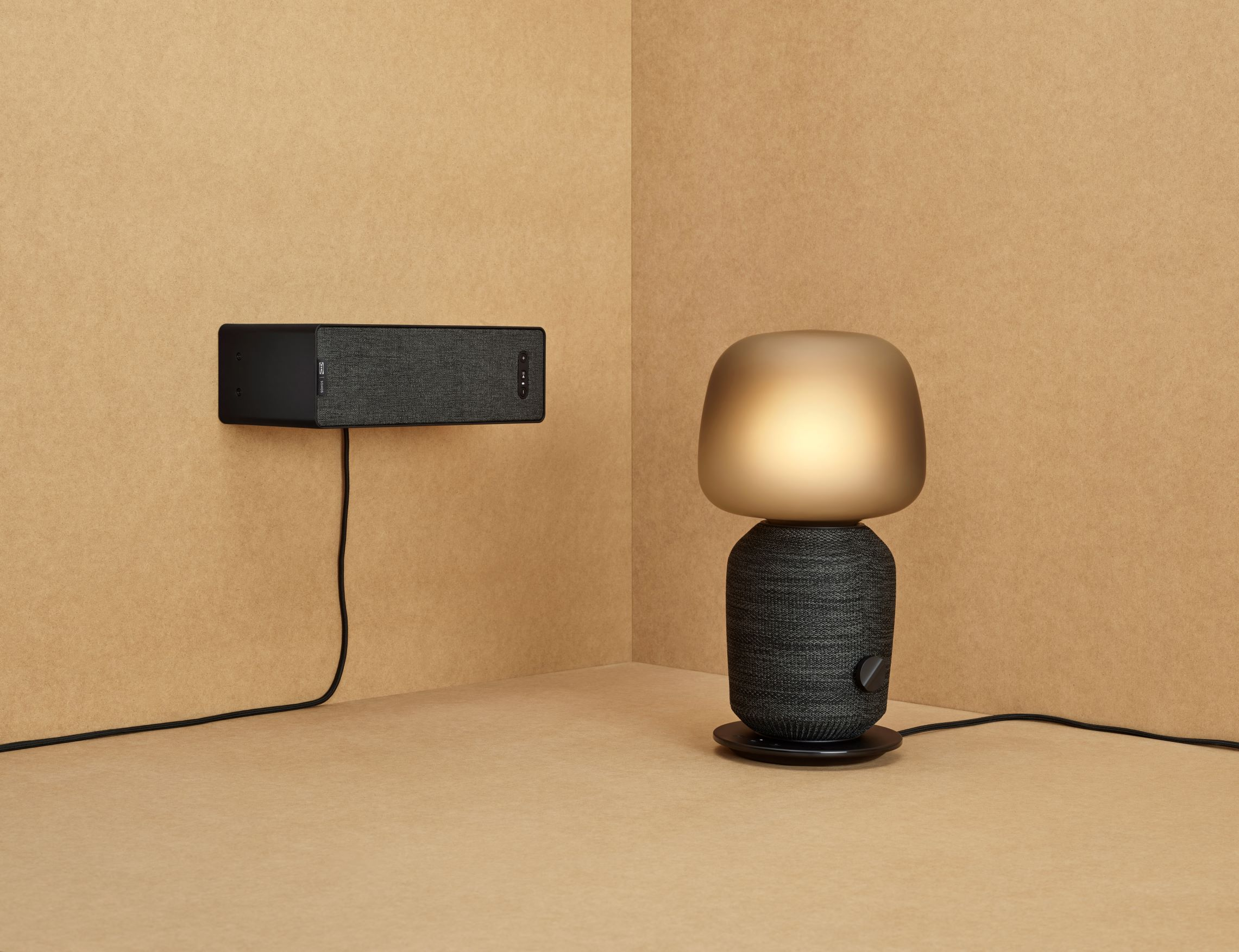 The SYMFONISK table lamp speaker (Black) ,  £150