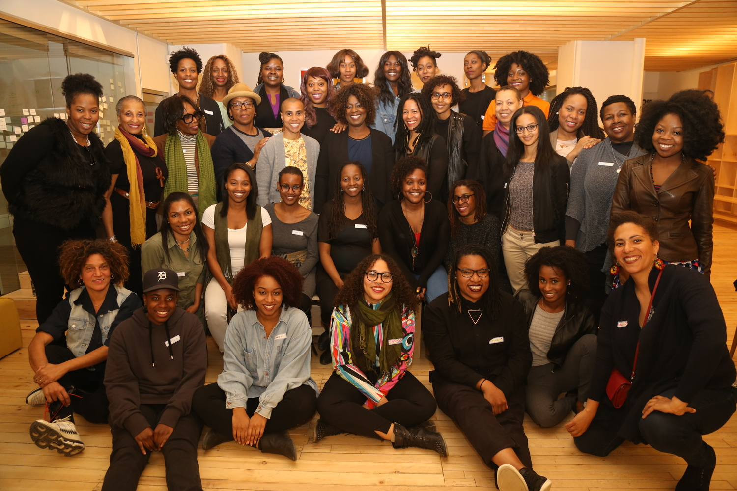 Black Women Film! Canada - Leadership program launch 2016. Photo by Fonna Seidu