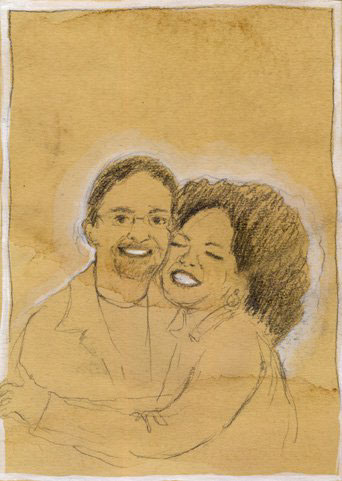 """A hug."" -with Oprah"