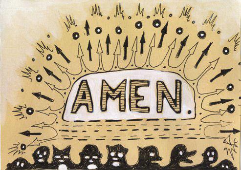 """Can I get an amen?"" -Eric Mooney"