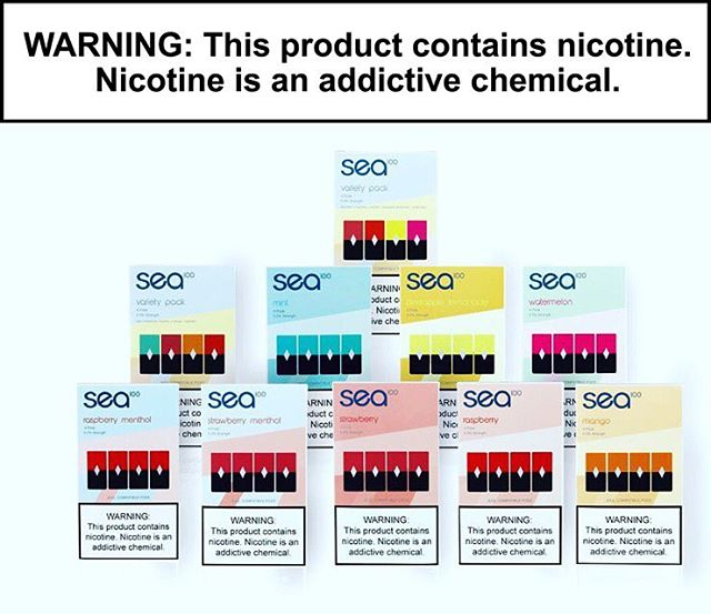 We are now distributing SEA 100 Pods! Coming to you in 8 delicious flavors, 5.0% strength, and Juul compatible! Pick up your pack today! . . #100ML #vape4you #vapeart #vaper #vapetricks #vapeshop #vapejuice#vapeworld #vapefriends #SEA #vapeordie #vape #vapelife #vapefamous #vapeaddict #vapeoftheday #vapegram #vapenation #vapeporn #vapecrew #notblowingsmoke #cleanbuilds #westcoastvapers #vapecapitol #vapingsavedmylife #vapenation #vapelyfe #vapelife #vapeon #vapemex #wurmcrawlers