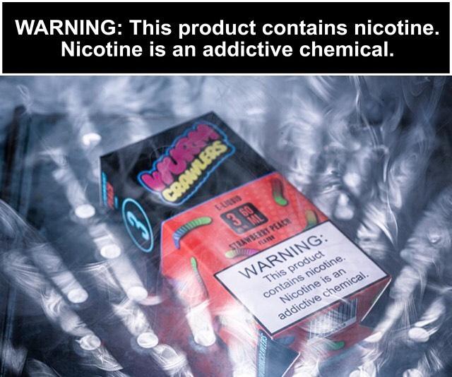 WURM CRAWLERS! Available now on www.twistdistro.com! —————————————————— #wurmcrawlers #vapeporn #nominors #vape #vapingsavedmylife #vapepictures #nicotine #vapeshop #smokeshop #Eliquid #notblowingsmoke
