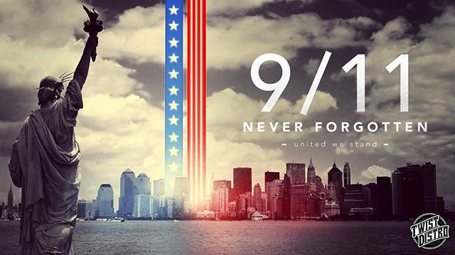 Twist Distro is taking time out to remember and honor those of 9/11. We remember September and will #neverforget