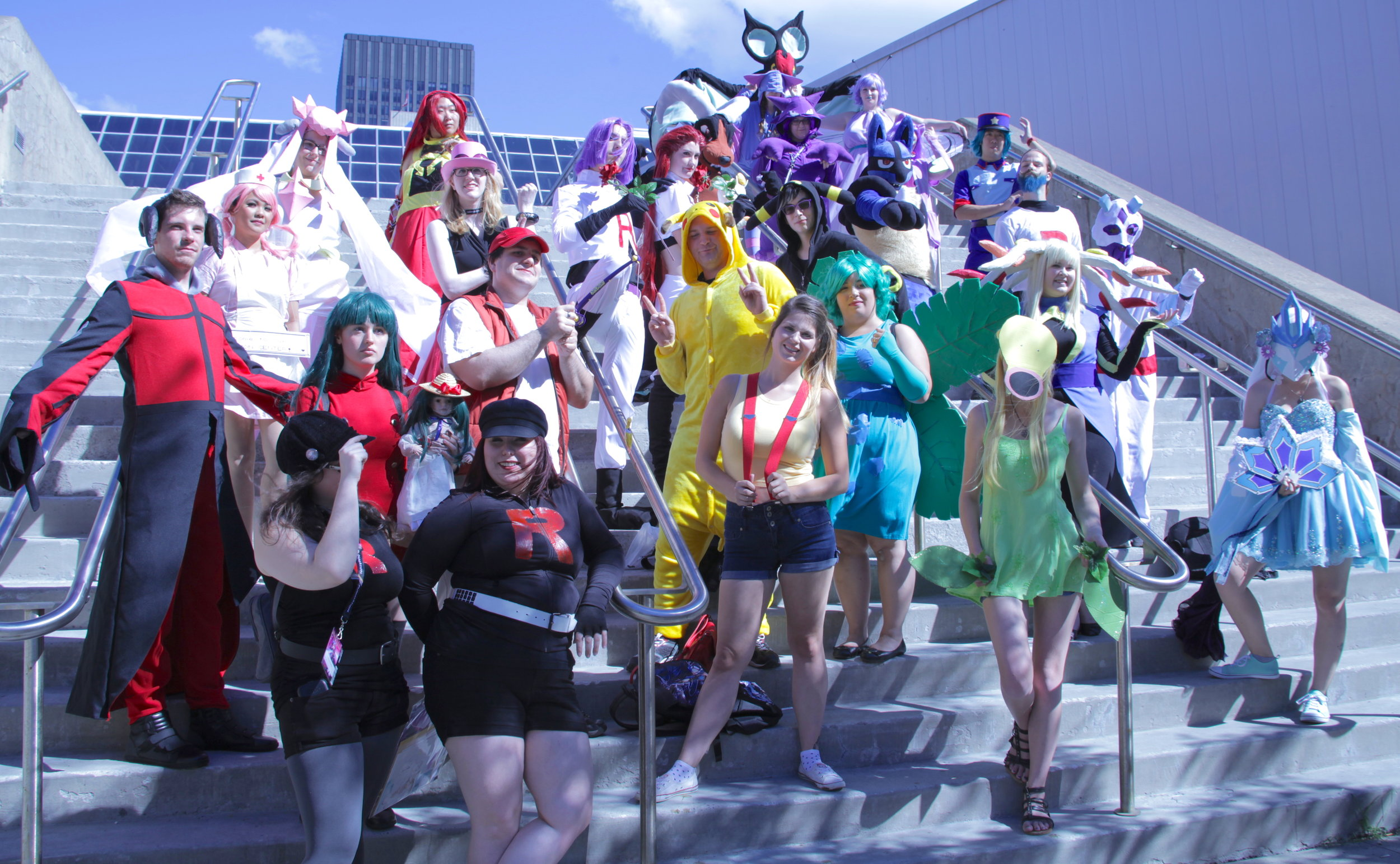 The Otakuthon Pokémon cosplay photo-shoot, 2017