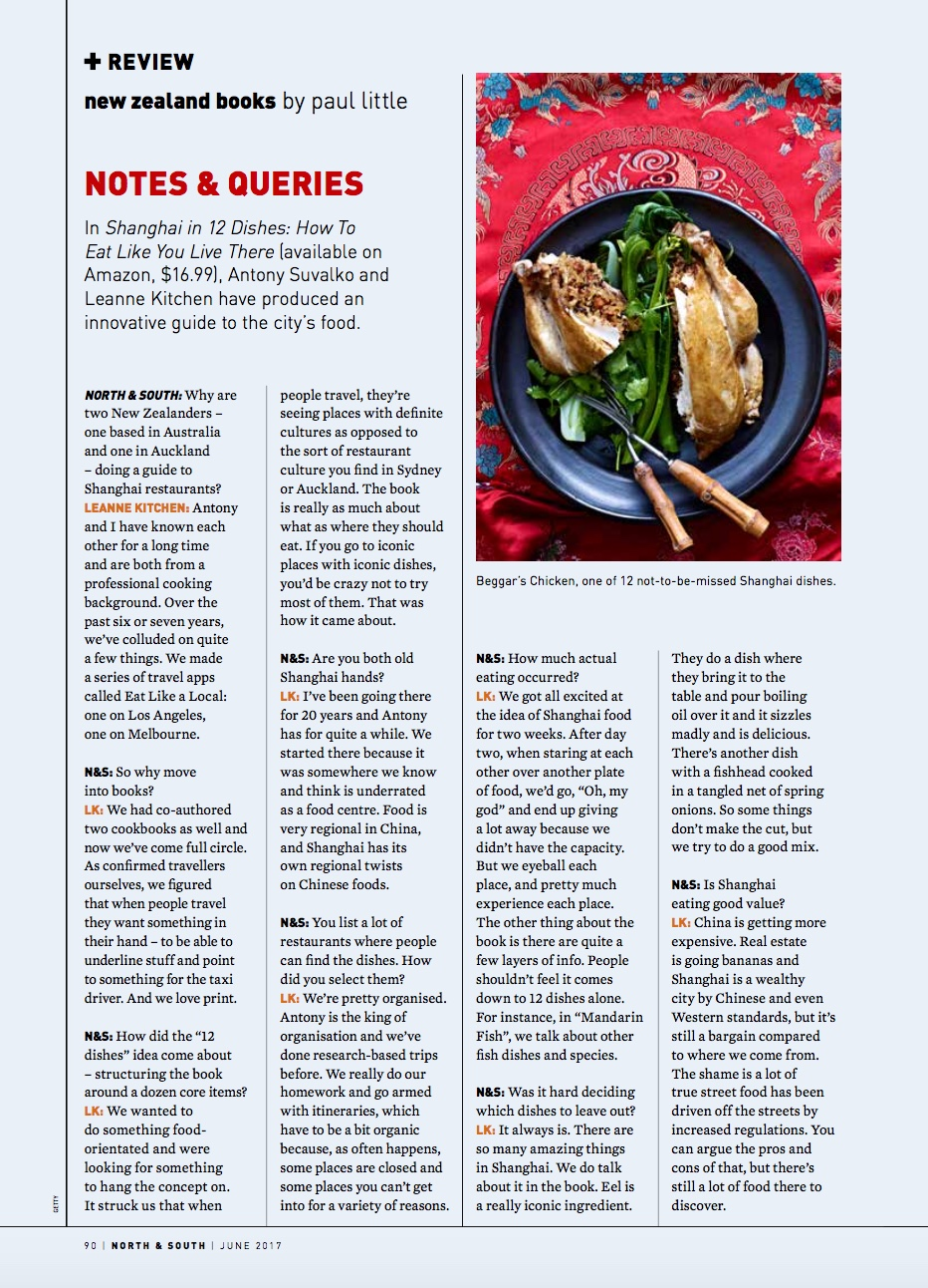 Review North & South Magazine - June 2017