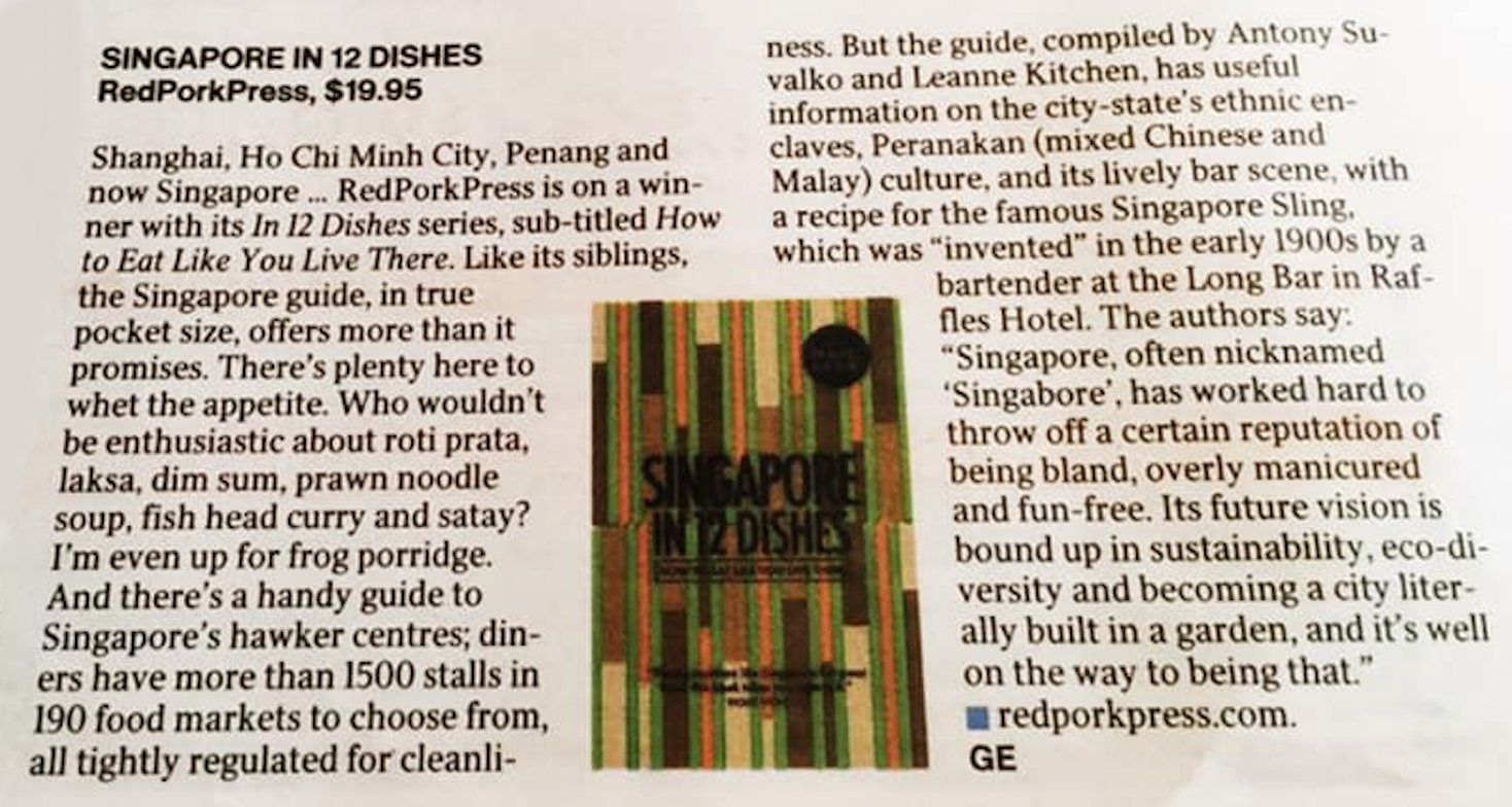 Singapore In 12 Dishes Review