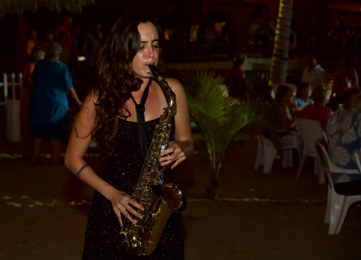 Papalotes Puerto Escondido Jazz Night 2018 Sax