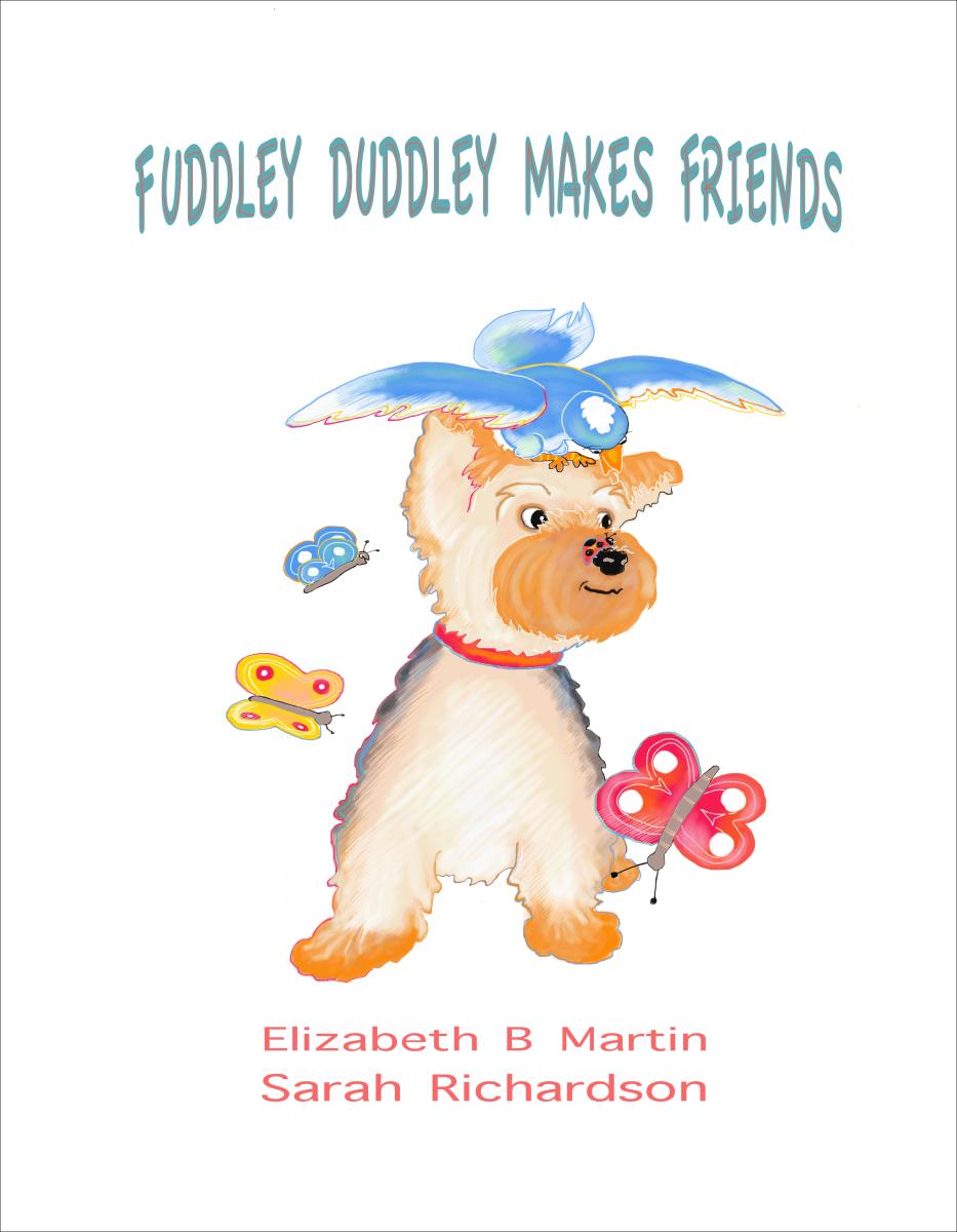 Elizabeth Martin Fuddley Duddley Title Page