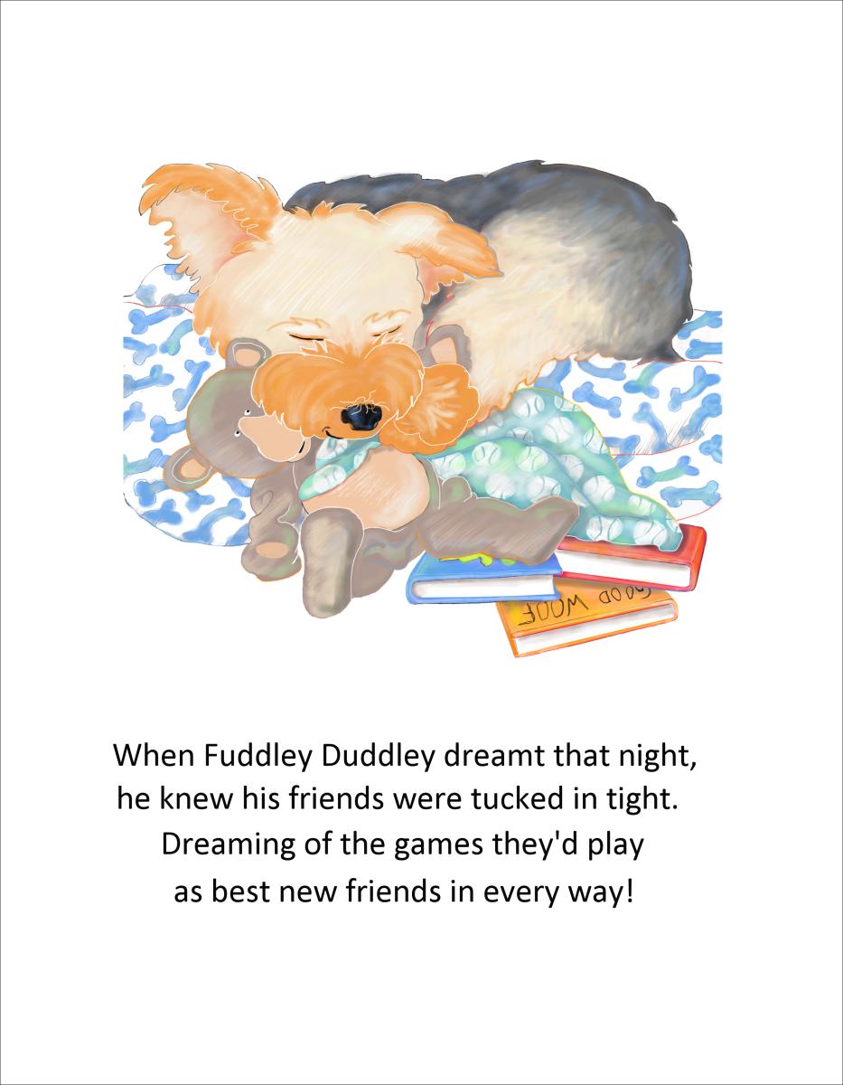 Elizabeth Martin Fuddley Duddley Pg 14 Henry Back In Bed