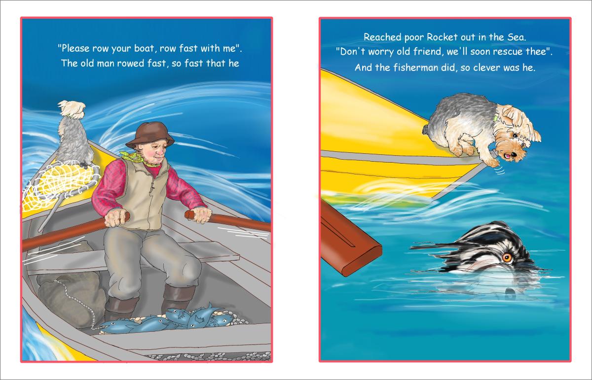 Elizabeth Martin Henry and Rocket Pg 10 Rowing
