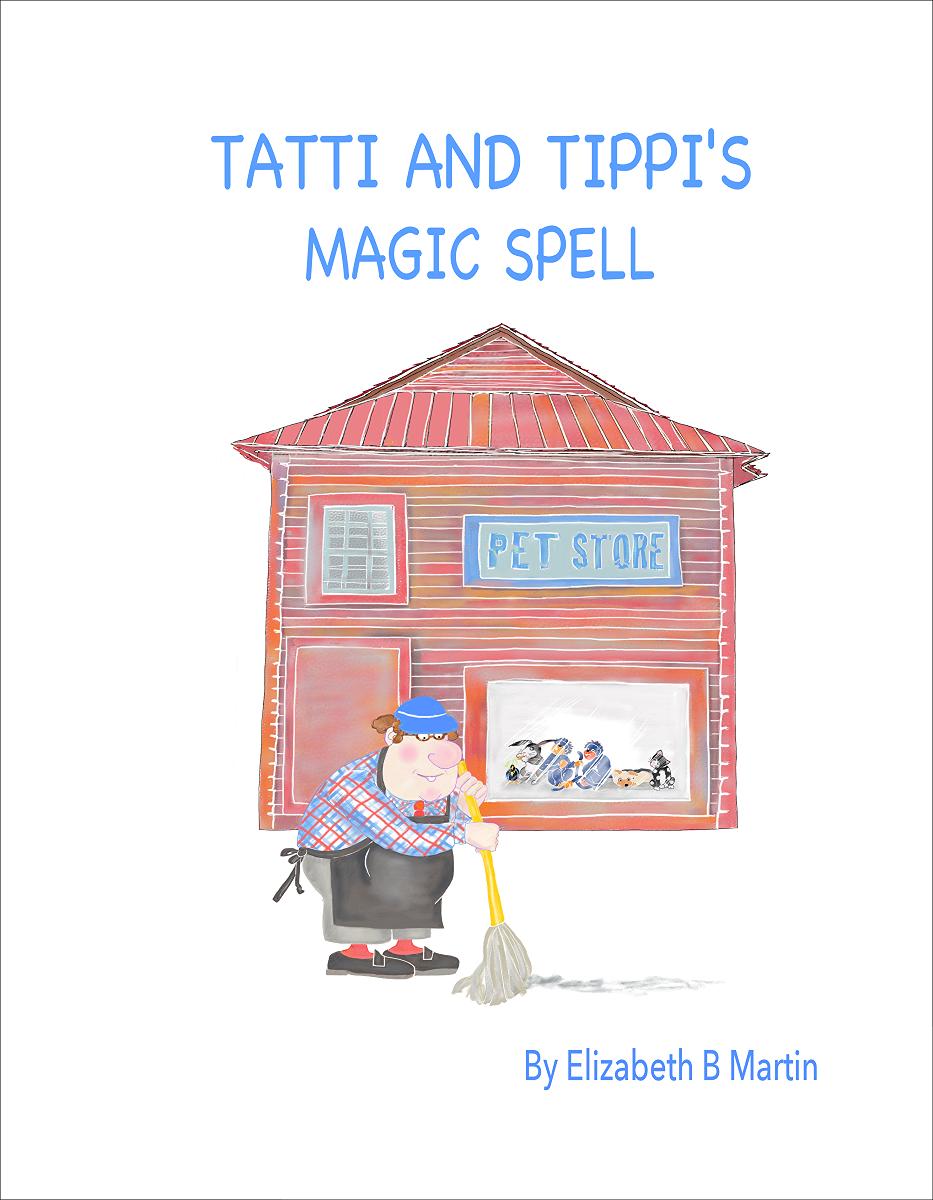 Elizabeth Martin Tatti and Tippi Title Page