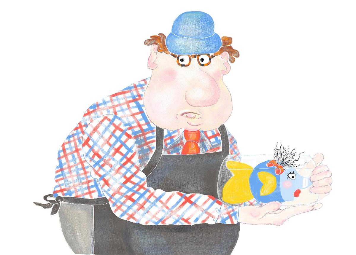 Mr. Rumple, Illustration by Elizabeth B Martin