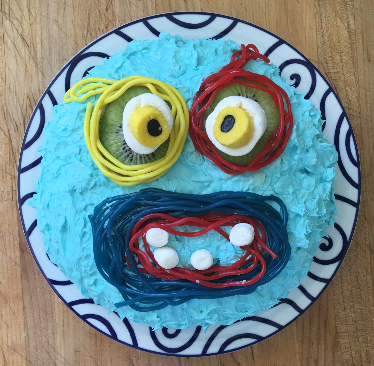 The Finished Monster Cake!