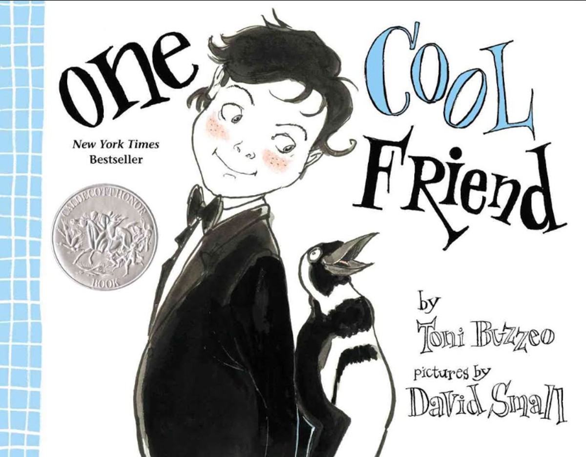One Cool Friend By Toni Buzzeo, Illustrations by David Small