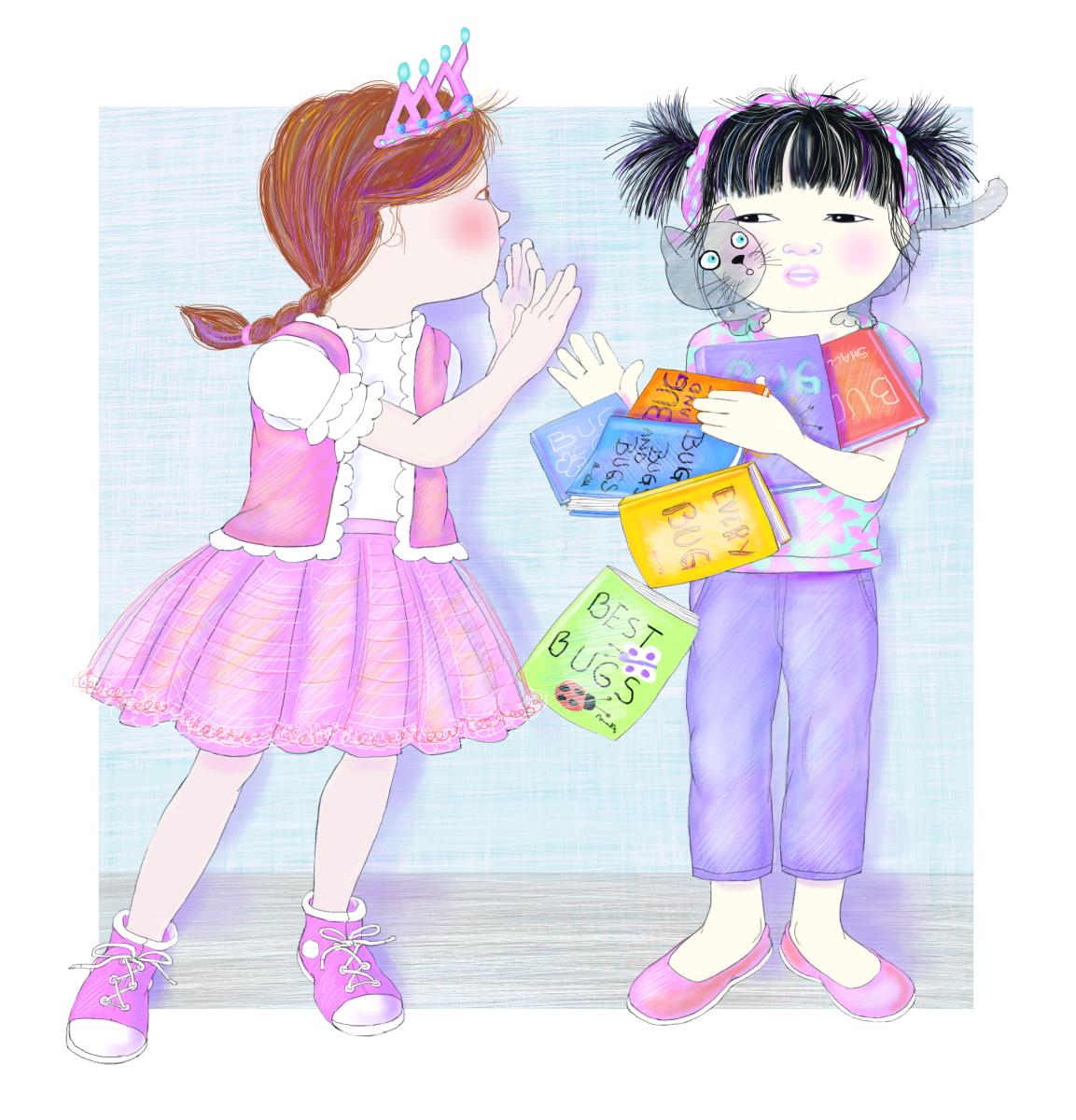 Illustration by Elizabeth B Martin
