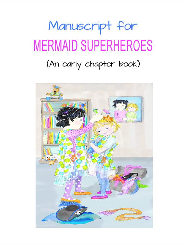 Mermaid Superheroes Cover