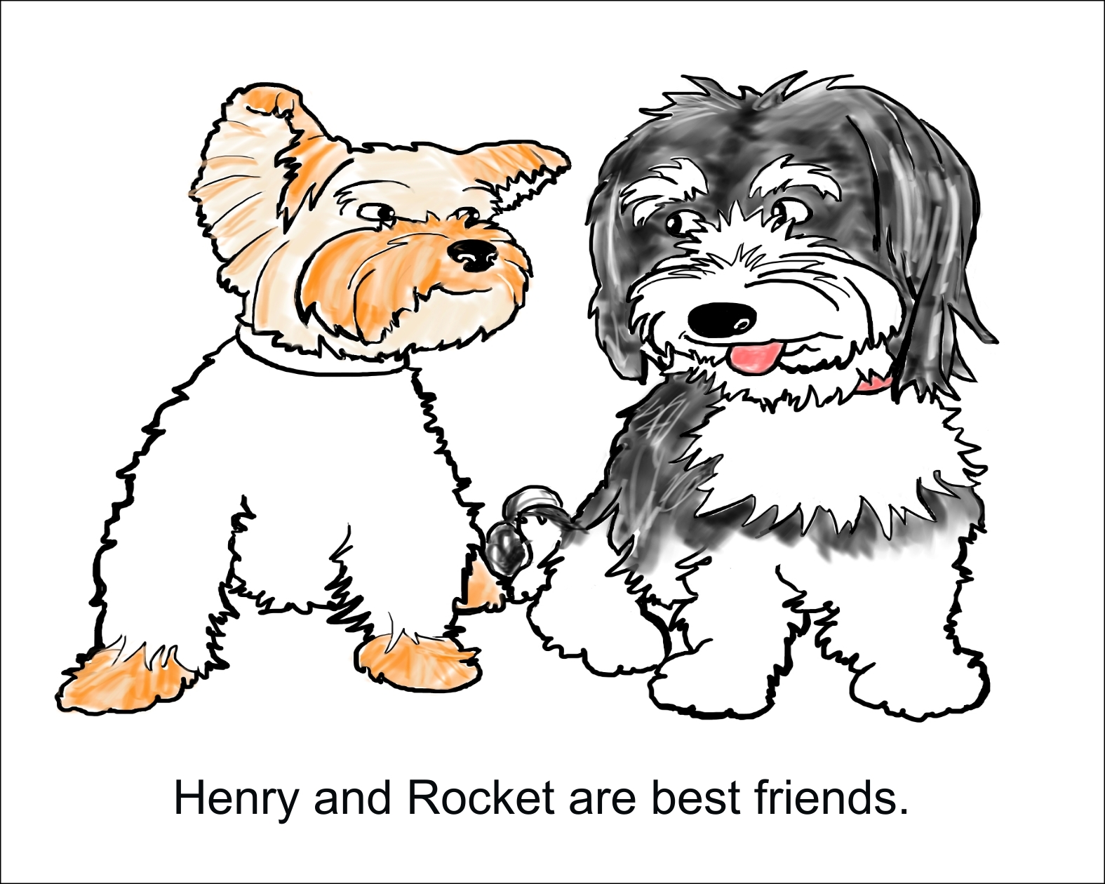 Henry and Rocket Pg. 1