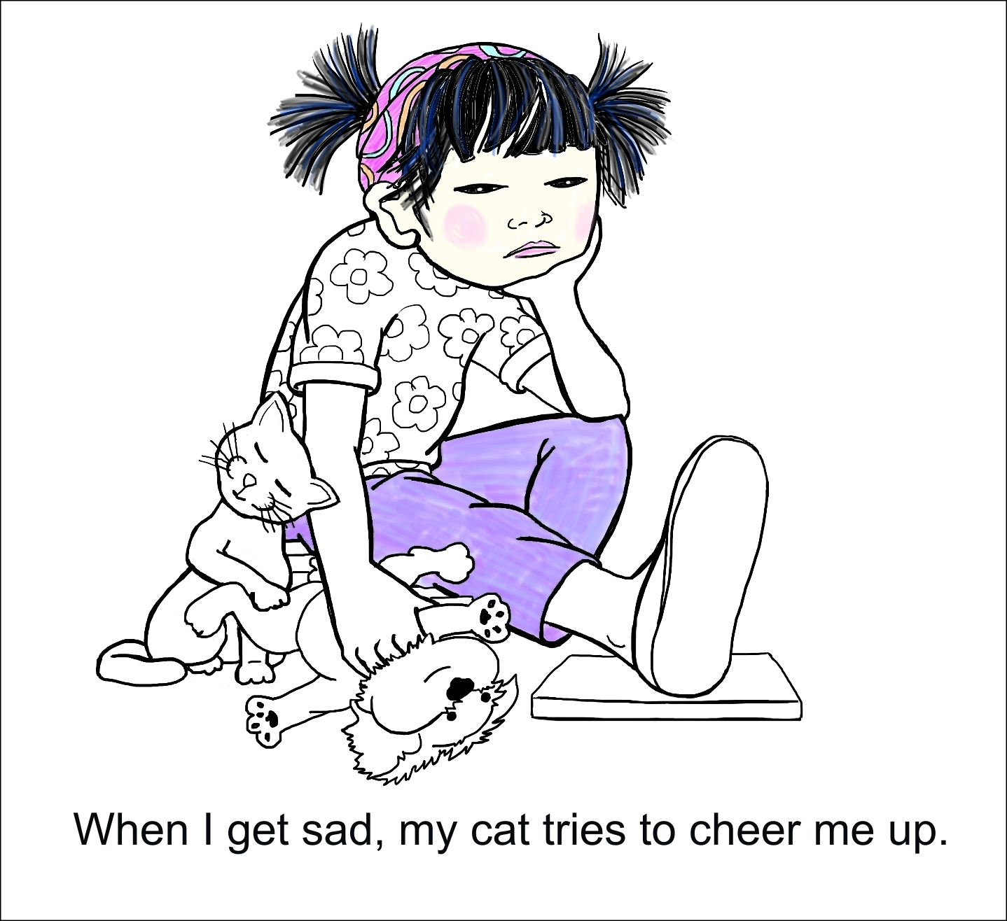 My Cat Boo, Page 5