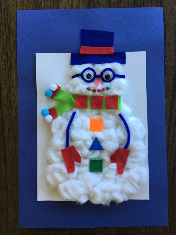 Copy of Copy of Top Hat Snowman