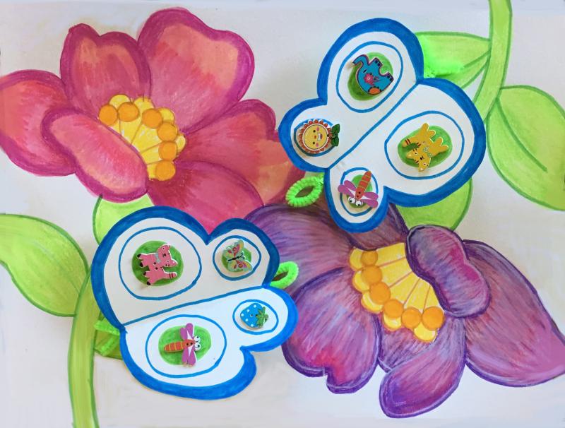 Flowers Butterflies 2