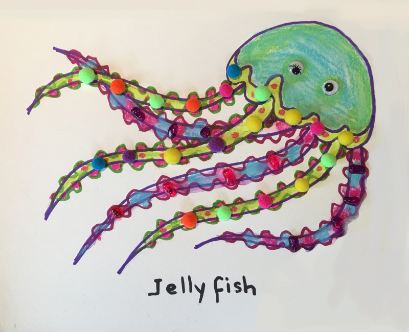 Jellyfish Art and Craft