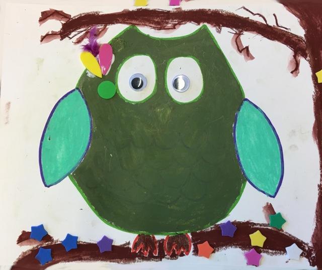 Copy of Copy of Green Owl
