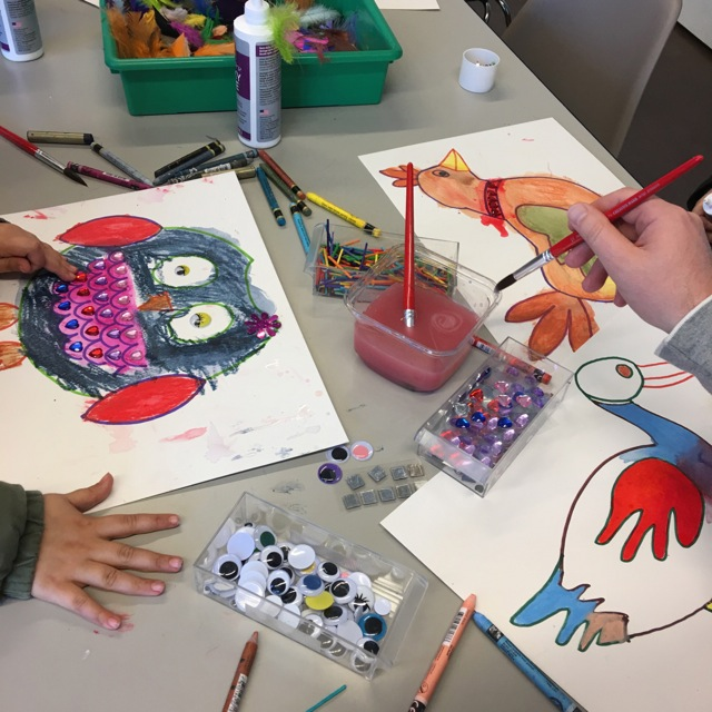 Birds Art and Craft 3