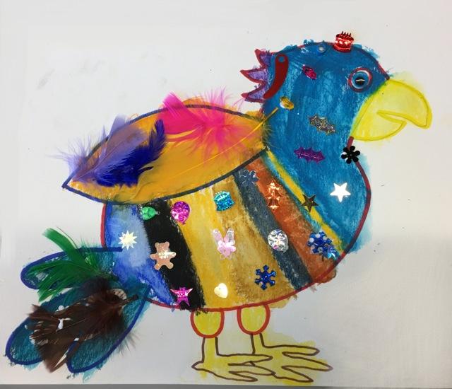 Birds Art and Craft 5