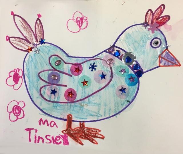 Birds Art and Craft 6
