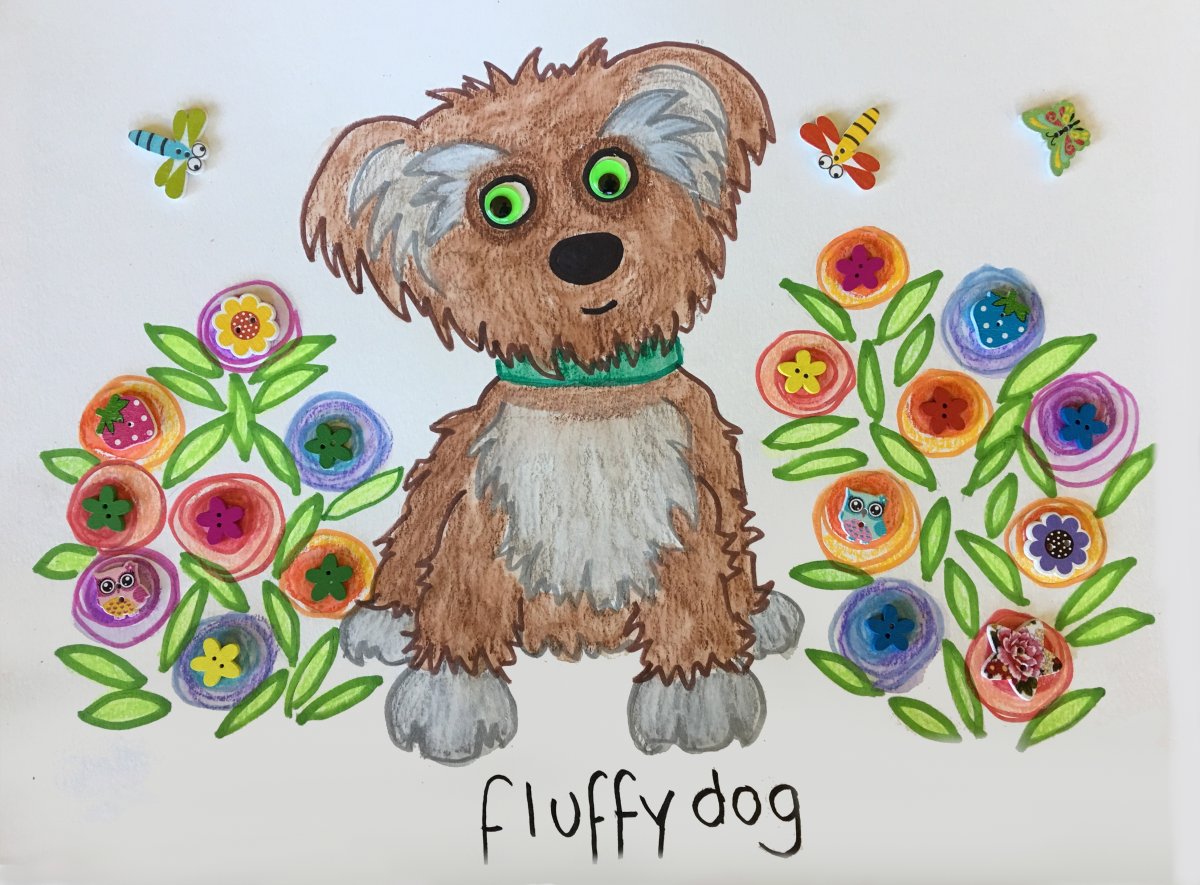 Puppies Art and Craft Project 3