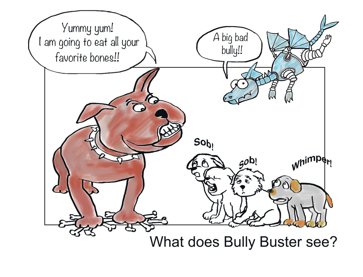 Bully Buster and The Puppies, Page 1
