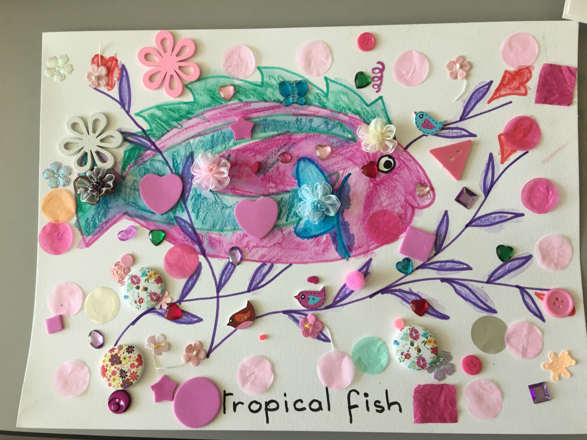 Copy of Copy of Pink Tropical Fish