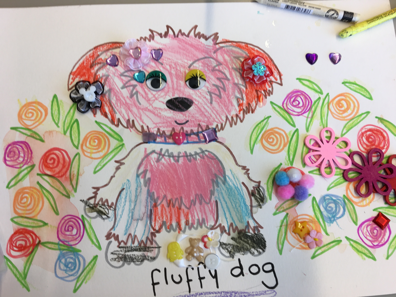 A very creative result by one of the PUPPIES event participants.