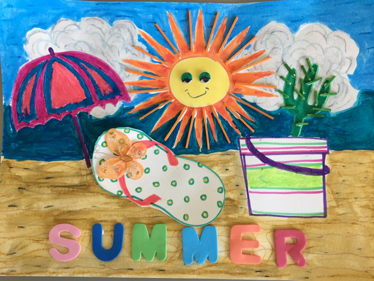 More amazing results from my SUMMER event at North Beach Public Library!
