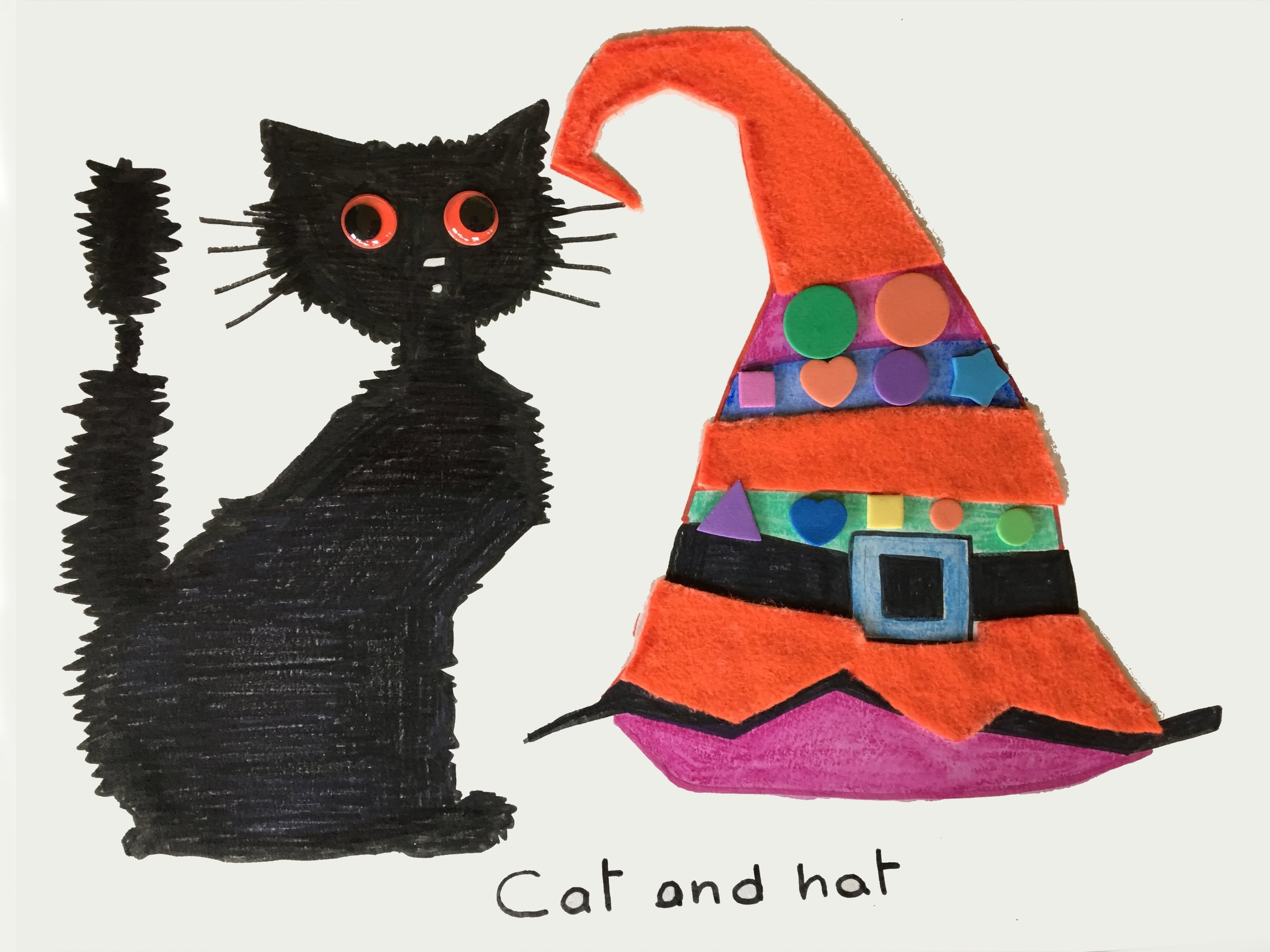Cat and Hat Halloween
