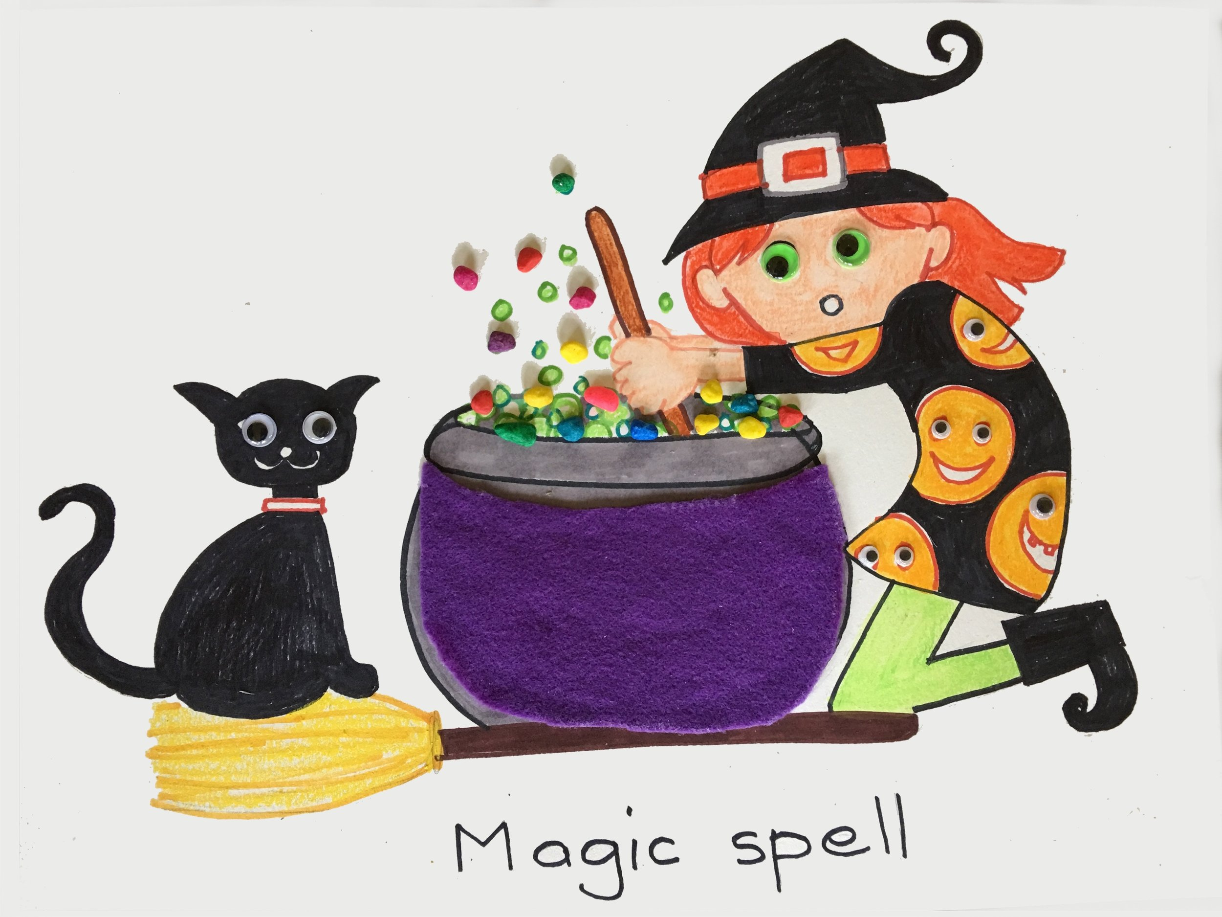 Witch Cauldron Halloween