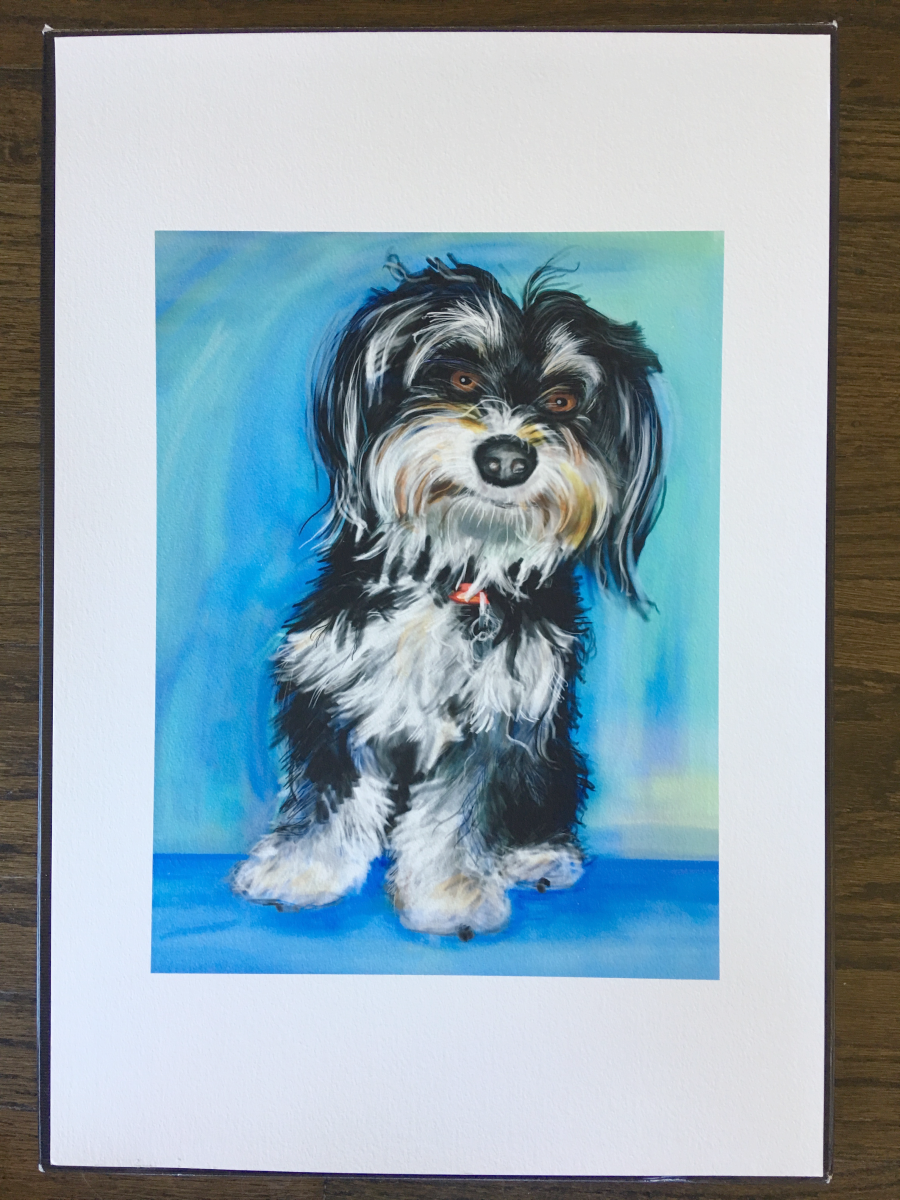 Come to the Wag Hotels' Howloween Silent Auction and bid for a pet portrait by me!