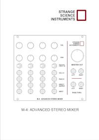 M4: Advanced Stereo Mixer - User Guide (PDF)