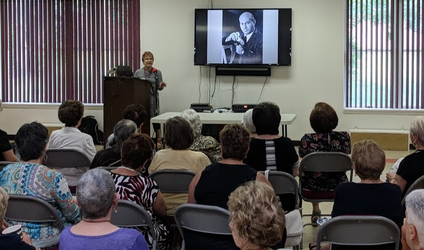 Ann's lecture to the Allentown, NJ Brandeis Women's Circle.