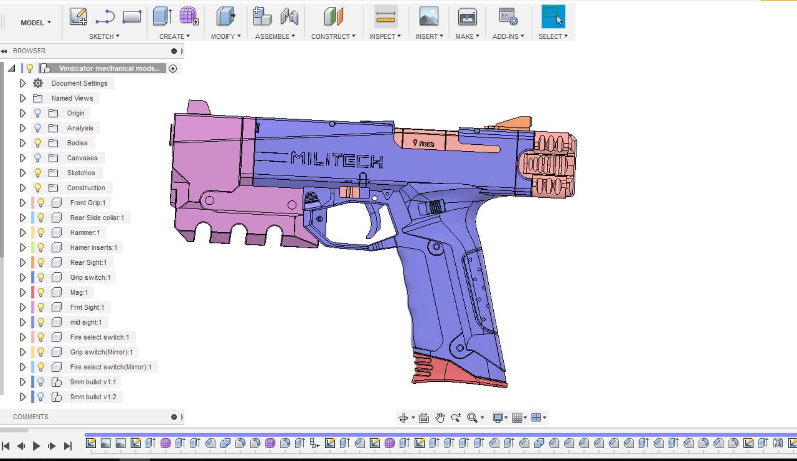 cyberpunk 2077 vindicator gun component view.JPG