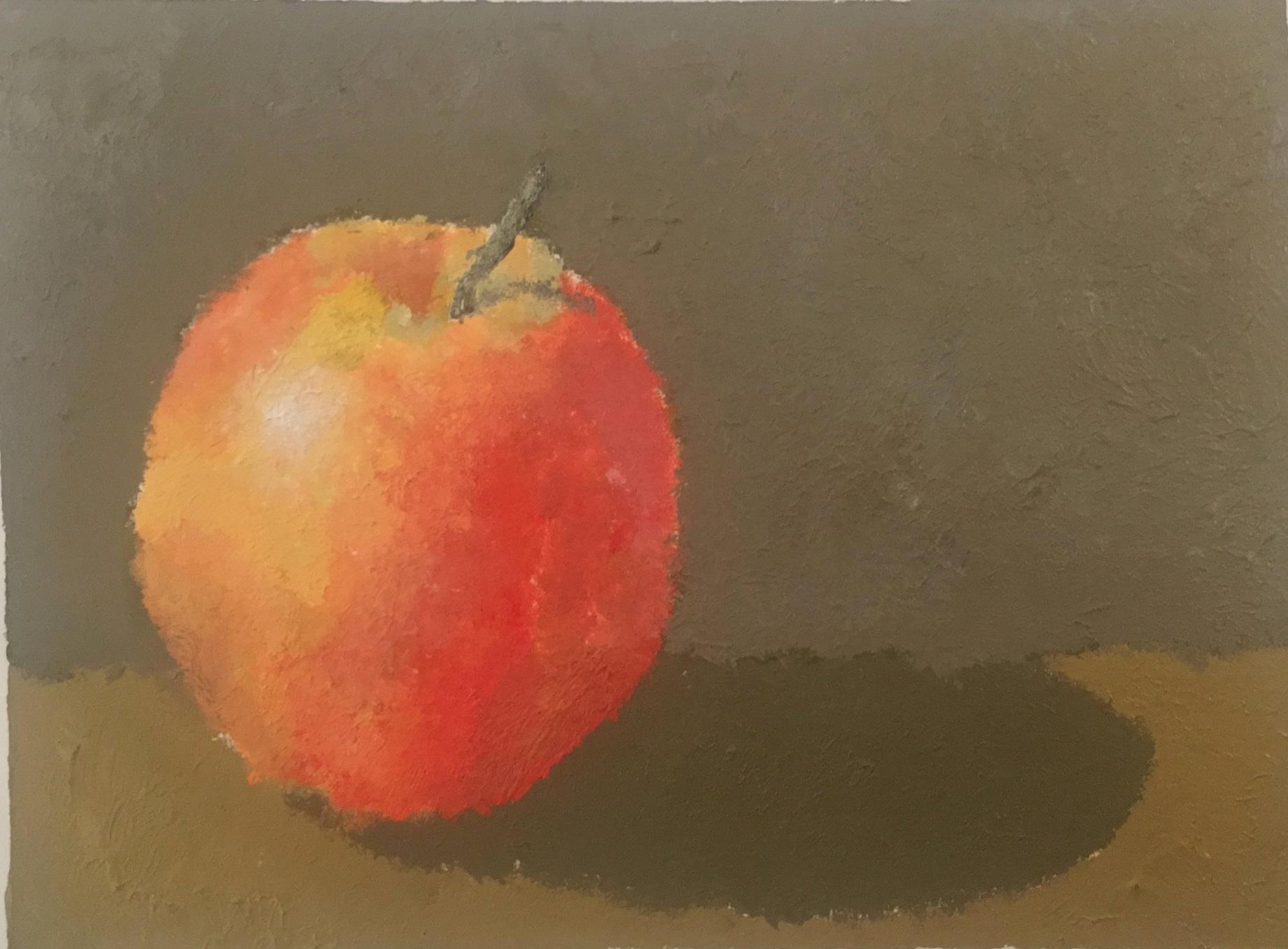 Apple  - acrylic - 2011 - philadelphia