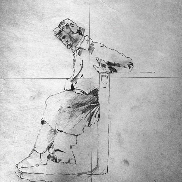 Reproduction  - graphite pencil - 2008 - bryn mawr