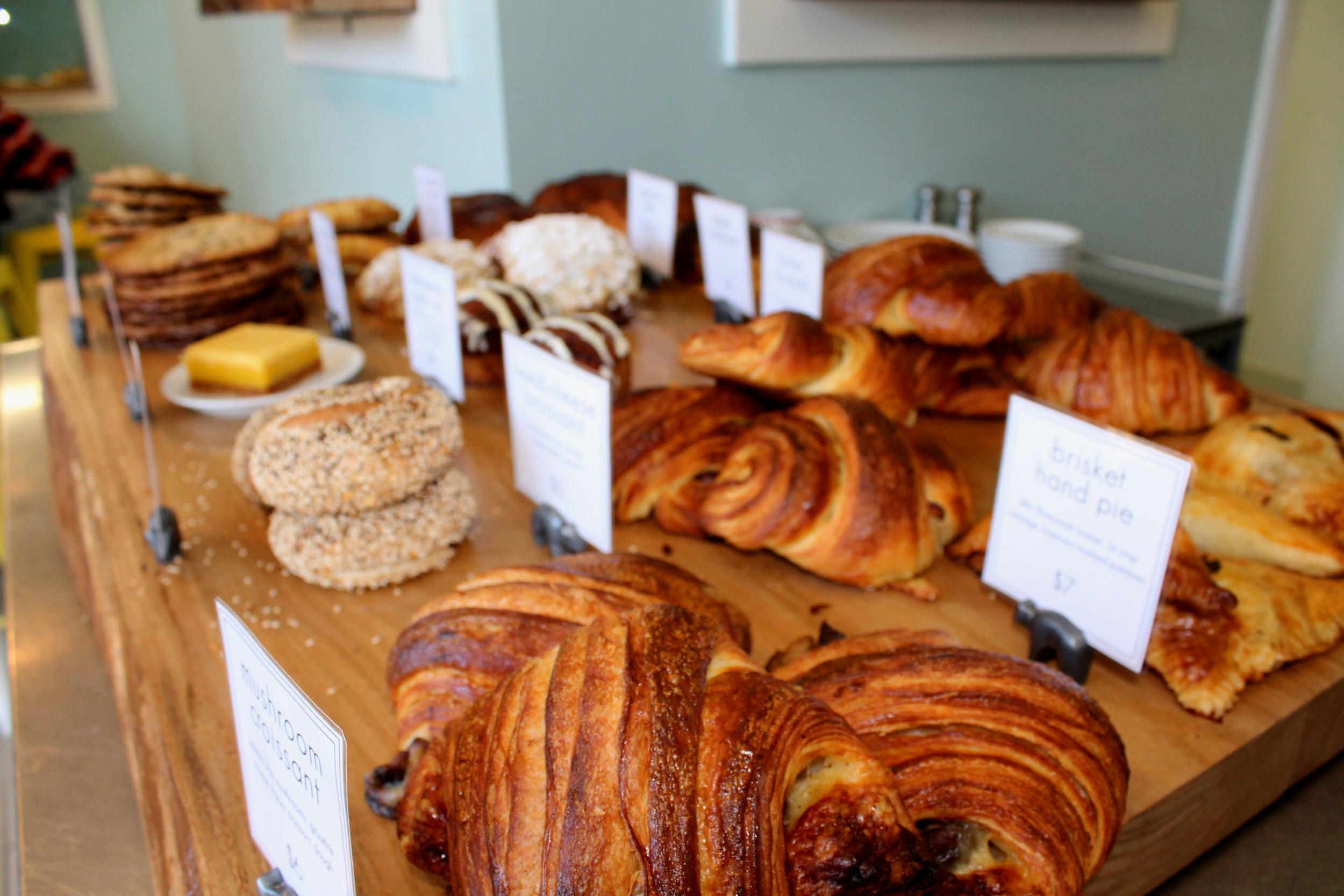 Pastries, pastries, pastries.