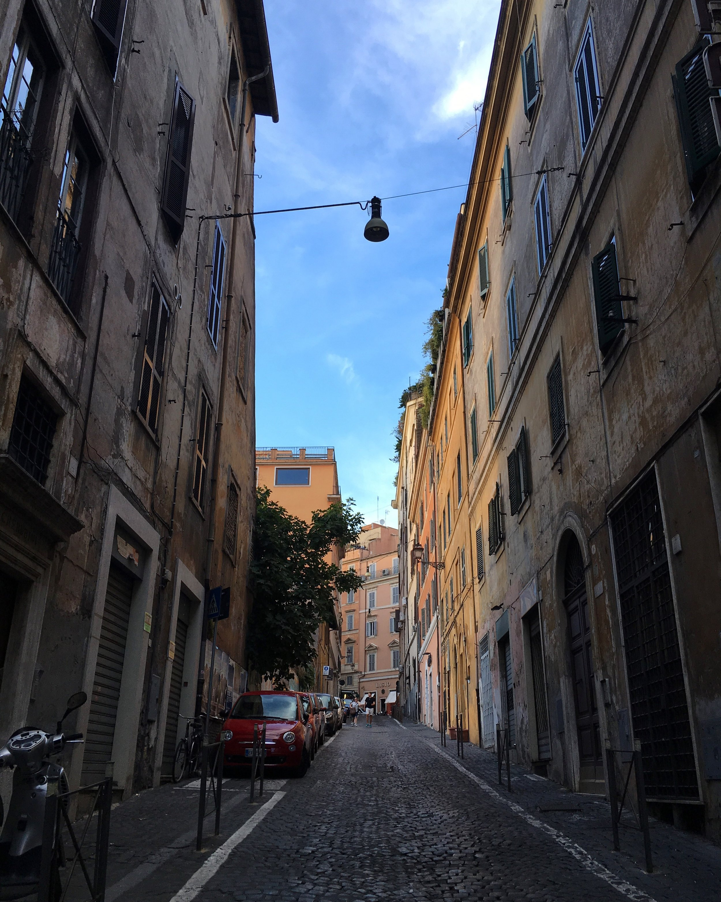 The alleys in Rome are definitely enchanting.