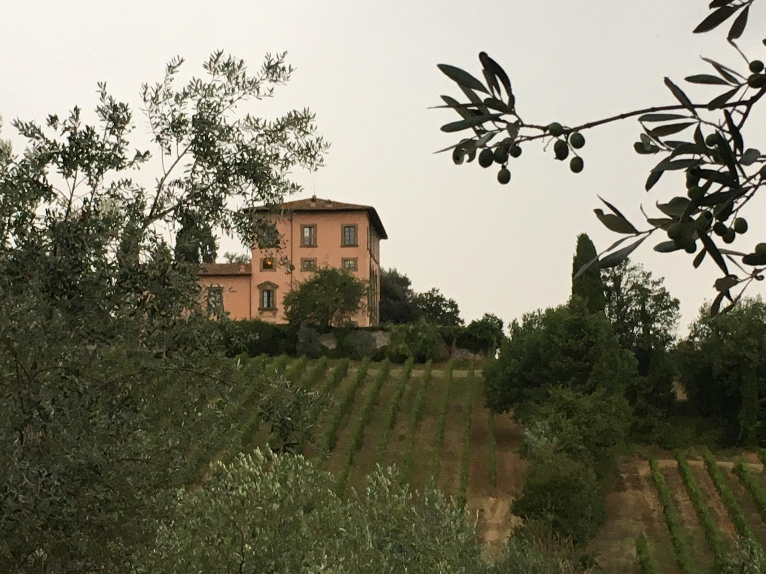 The villa where Tom Hanks stayed